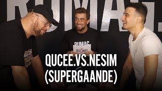 QUCEE vs. NESIM (SUPERGAANDE) - 5 SECONDS - RUMAGTV