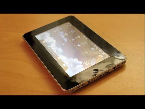Elonex  ETouch 700ET 60.-  Billig Tablet PC - Review Deutsch / Mave Reviews