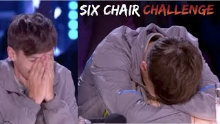 LOUIS TOMLINSON AT THE X FACTOR | All moments Six Chair Challenge (boys & groups)