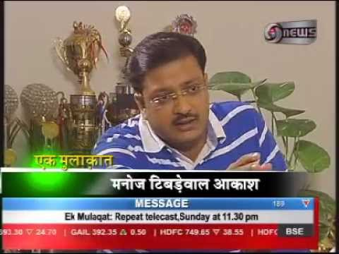 Manoj Tibrewal Aakash interviewed Indian Sport Personalty Sushil Kumar for DD News's Ek Mulaqat