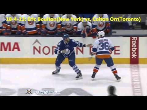 Top Ten NHL Hockey Fights of April 2013 {HD}