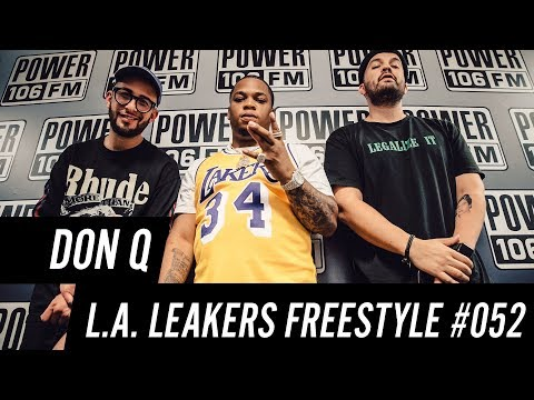 Don Q Freestyle w/ The L.A. Leakers - Freestyle #052
