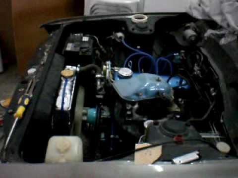 First Time running my Datsun/Nissan A14 engine