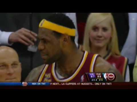 LeBron James sings on