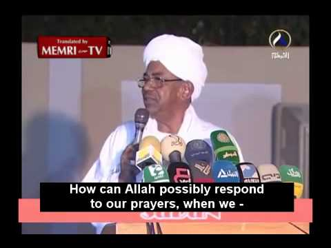 Sudanese President Omar Al Bashir Owns up to Killings in Darfur, Recommends Prayers for Absolution