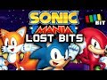 Sonic Mania LOST BITS | Unused Content and Debug Mode Secrets [TetraBitGaming]