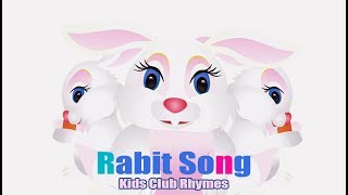 RABIT Song    Kids Club preschool Rhymes    Kids  education rhymes with actions