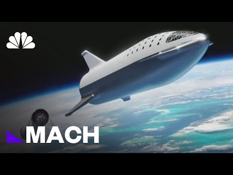 SpaceX Says Fashion Tycoon Will Ride A Rocket Around The Moon | Mach | NBC News