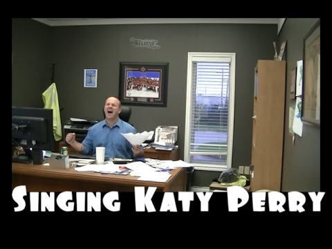 Funny Katy Perry Singing Impression