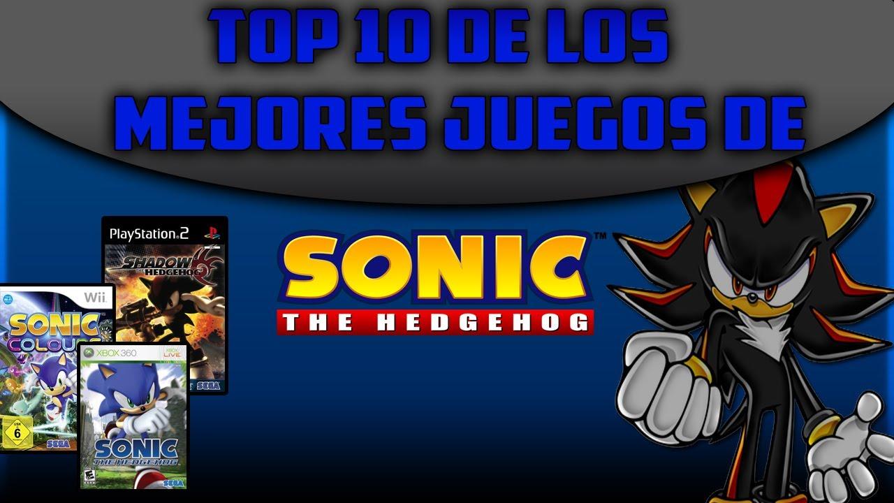 los mejores juegos de sonic: