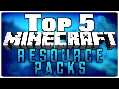 Top 5 Minecraft Resource Packs 1.8 ( Minecraft Texture Packs) HD