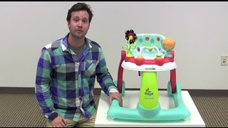 Kolcraft Tiny Steps 2-in-1 Baby Walker Review by zSeek