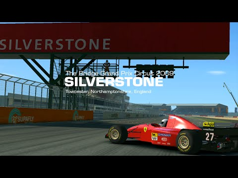 Real Racing 3  - F1 Cup Silverstone Ferrari 412-T2 Gameplay
