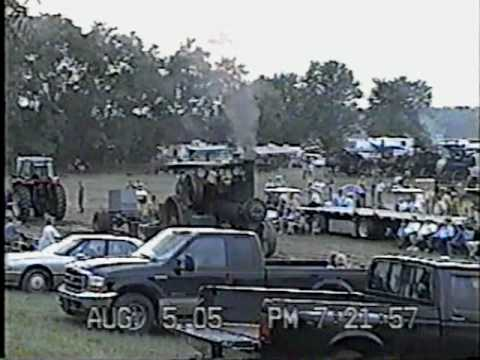 2005 PIONEER ENGINEERS CLUB OF INDIANA ANTIQUE TRACTOR PULL PART 3.mpg