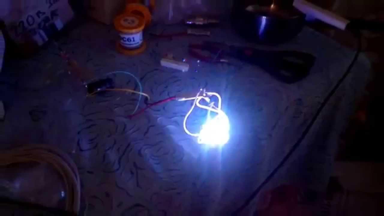 Гирлянда из светодиодов на 220 вольт своими