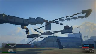 GTA 5 - Parkour Deathmatch - HOW IS THAT EVEN POSSIBLE??!