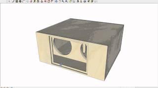 ram designs dc audio level 5 bandpass tuned low