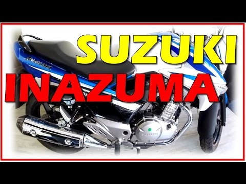 Suzuki Inazuma 250 no Brasil! Já nas lojas! Ouça o belo ronco dos escapes!