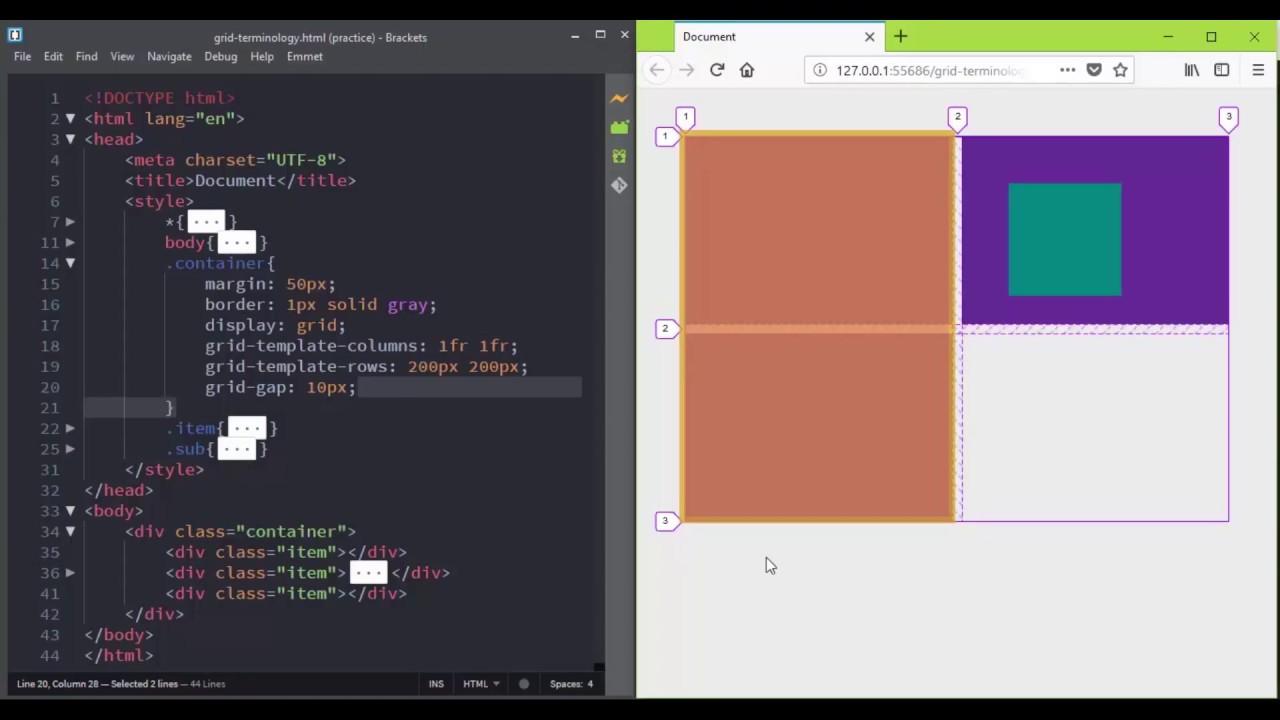 CSS Grid Layout Terminology ( CSS3 Master Series: The Complete Guide ...