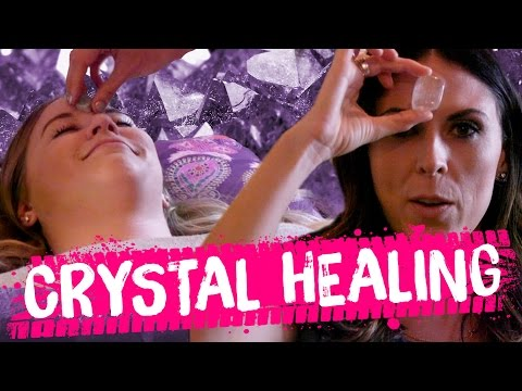 CRYSTAL HEALING MIRACLE?! (Beauty Trippin)