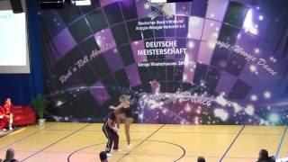 Carolin Steinberger & Tobias Planer - Deutsche Meisterschaft 2016