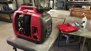 Honda EU2000i Generator Upgrades and Mods - This video shows you how to store your generator