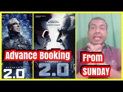 2.0 Movie Advance Booking To Start In India On November 25 Sunday
