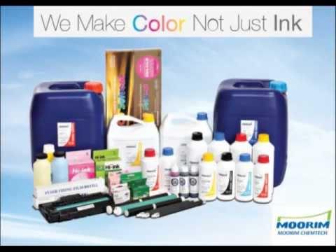 Moorim Chemtech - Digital printing solutions, Inks (Printer ink, inkjet ink, pigment ink) & Dyes