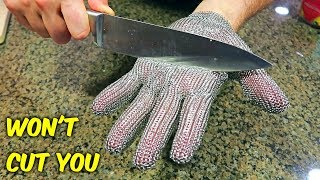 4 Weird Gloves Kitchen Gadgets Test!