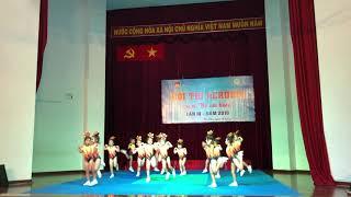 Aerobic Đất Nam - hội thi aerobic mẫu giáo quận Tân Phú 2019 -nụ hoa cho đời
