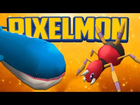 Minecraft Mods Pixelmon Lucky Dip Battle Minecraft Pokemon Modded Mini Game
