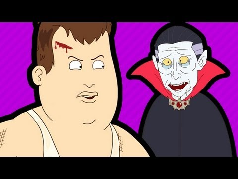 DRACULA'S TIME MACHINE (Teleporting Fat Guy #2)