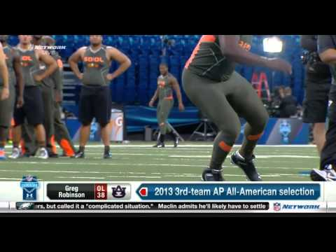 :} Mike Mayock talking about bubble butts @ the Combine