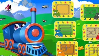 Fun and Easy Play Driving Train Railroad | Trains for Kids