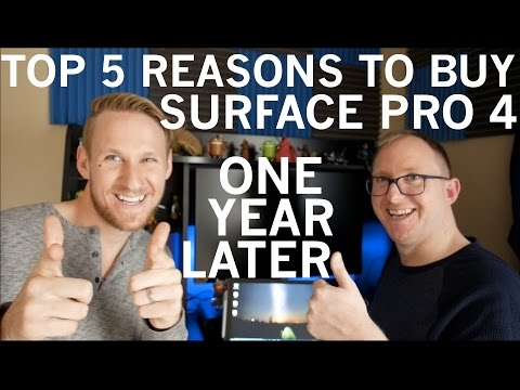 Five Reasons To Buy A Surface Pro 4 One Year Later! + Gang Beasts Gameplay