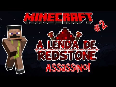 Cruel Assassino! A LENDA DE REDSTONE! #2 - Aventura Minecraft Multiplayer