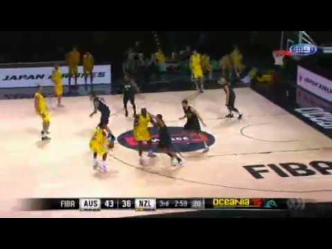 Video 2:05          Australia  s basketball teams stand tall
