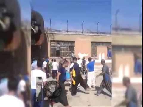 شورش در زندان قرلحصار در اعتراض به اعدام - مرکز دموکراسی برای ایران