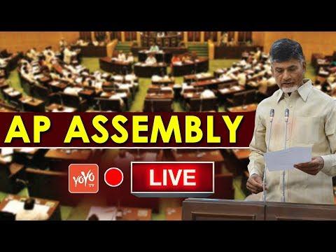 Chandrababu LIVE | AP Assembly LIVE | Monsoon Session 2018 | AP Politics | YOYO TV Channel