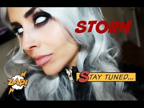 STORM Makeup Tutorial - X-Men Tempesta