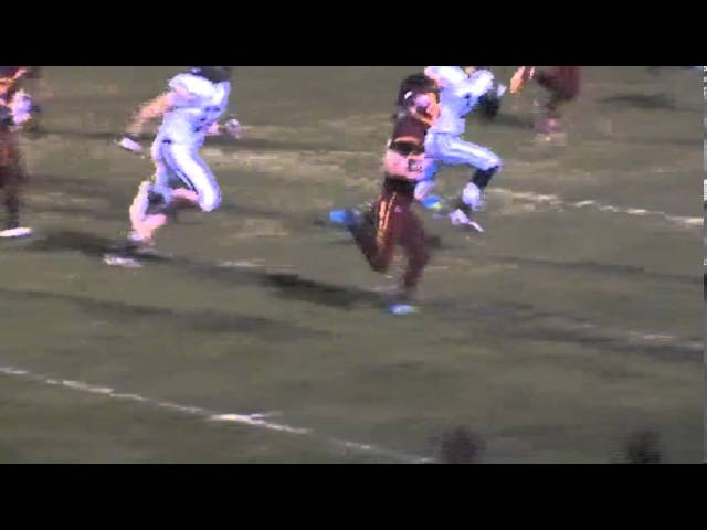 10-11-13 - It's a 15 yard TD for Randy Baker (Brush 6, Valley 0)