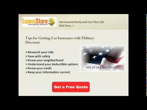 Get Cheap Auto Insurance for Military Members