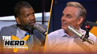 'Terrible Tom' & Pats will beat Cowboys, LeBron is piling up stats just for show — Parker | THE HERD