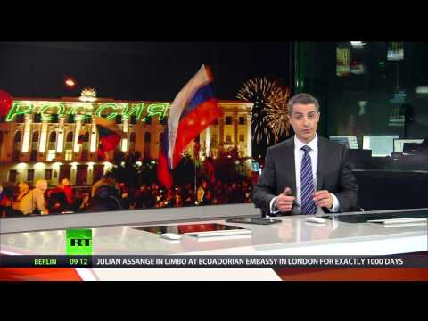 Crimea Referendum: Celebrations kick off for 1yr anniversary of joining Russia