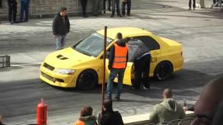 Konya Drag Mitsubishi Evo 9.7XX  2.11.2014