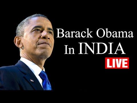 US President Barack Obama in India - LIVE