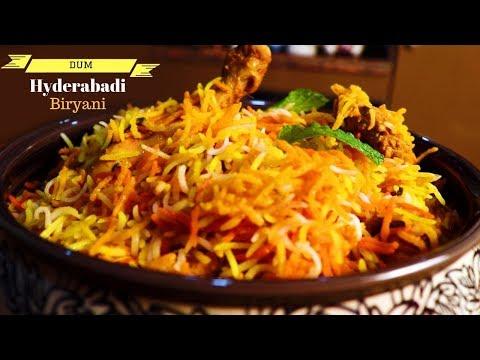 Hyderabadi Chicken Dum Biryani | हैदराबादी चिकन दम ब्रियानी बनाने का तरीक़ा | Restaurant style