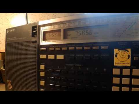 28 05 2016 Radio Latino in English to Eu 1658 on 7585 unknown tx site
