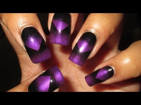 scaled gradient nail art tutorial  youtube