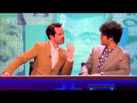 Richard Ayoade and Jimmy Carr's